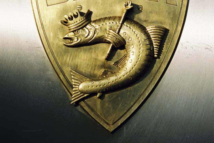 Balik Logo auf dem Räucherofen