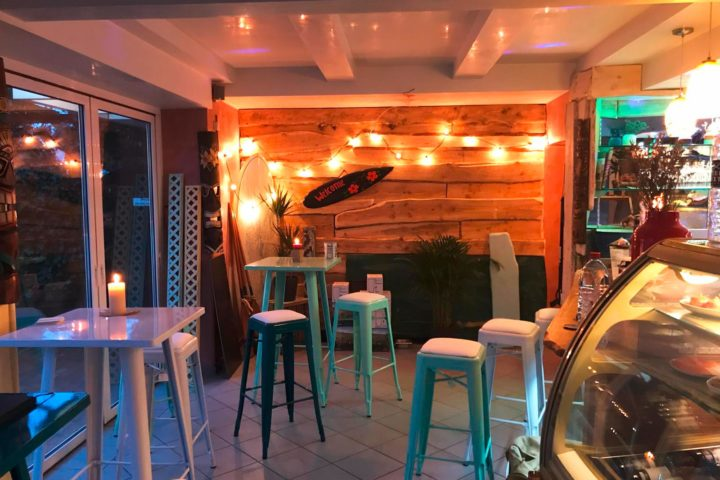Die Yamacito Seafood Bar in St. Peter-Ording