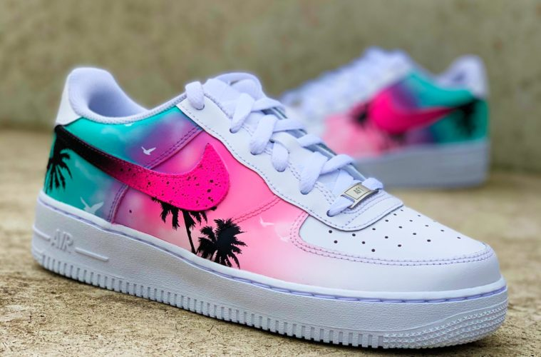 Sneaker, designt von Martin Olomi/Sneaker Surgery