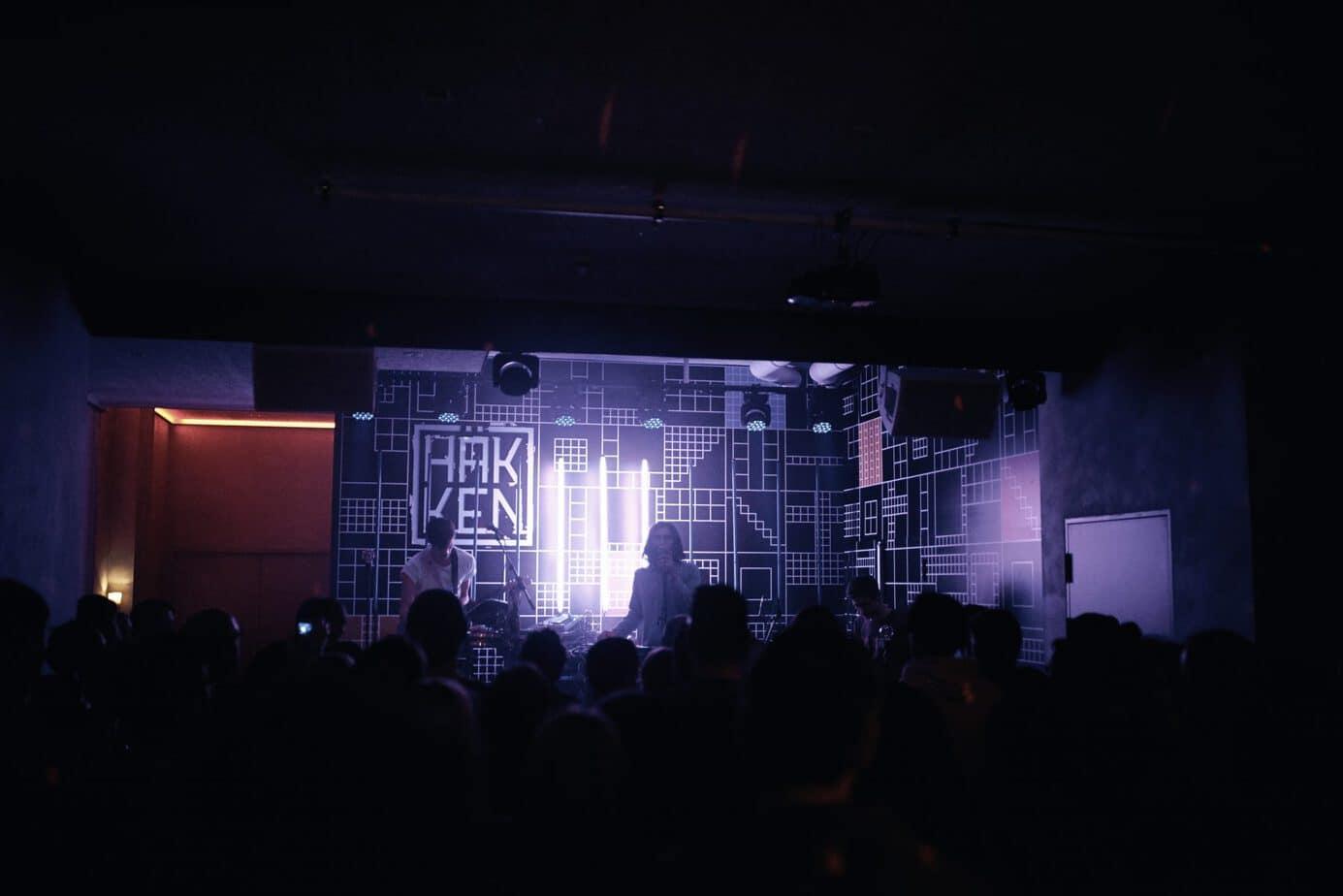 Häkken im Klubhaus St. Pauli Foto: Felix Wittich